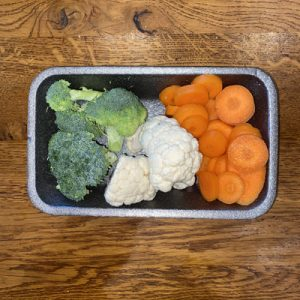Carrot, Broccoli & Cauliflower